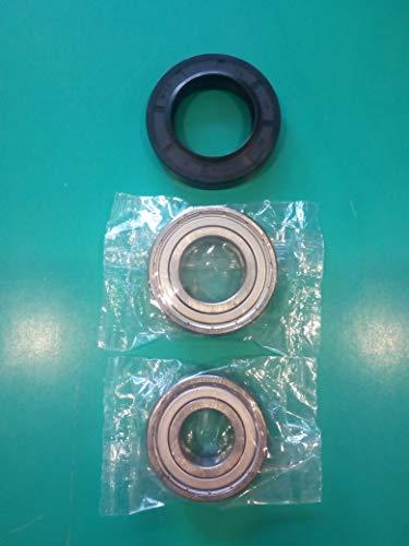 Kit cuscinetti 6205ZZ SKF + 6204ZZ SKF guarnizione para acqua lavatrice 35x56x10 11,5