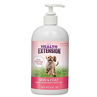 Health Extension Skin & Coat for Puppies and Dogs, 16-ounces