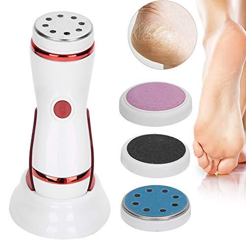 Kit de removedor de callos de pie eléctrico 4 cabezales de pulido...
