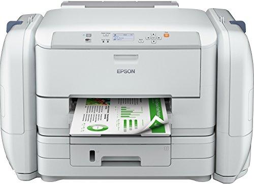 Epson WorkForce Pro wf-r5190dtw 4800 x 1200dpi A4 WLAN wit – inkjetprinter (ESC/p-r, PCL 5 C, PCL 5e, PCL 6, PDF 1.7, BASE-3, 4800 x 1200 dpi, zwart, cyaan, magenta, geel, A4, papier, A4, A5, A6)