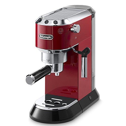DeLonghi EC 680.R Dedica Espressomaschine (1350 Watt, 15 bar) rot