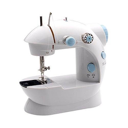 4. MICHLEY LSS-202 Lil' Sew & Sew Mini 2-Speed Sewing Machine
