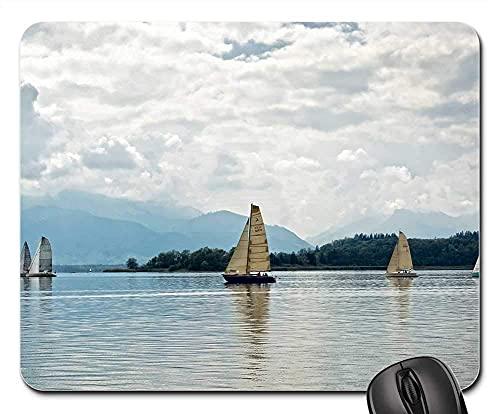 Mauspad - Segelboot Boot Segel See Wasser Wassersport 2