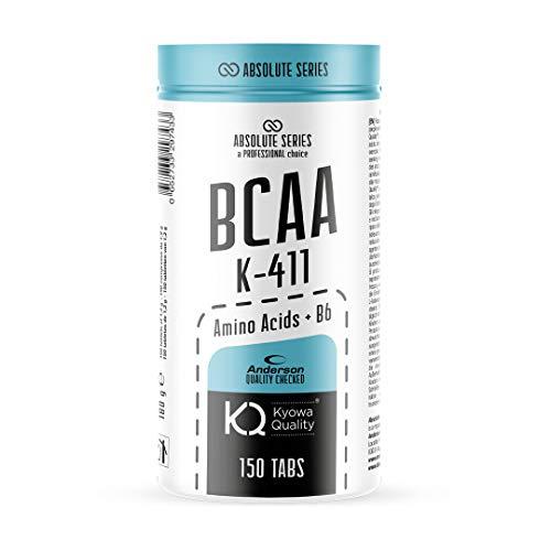 BCAA Aminoacidi Ramificati 4.1.1 e Vitamina B6 | Crescita muscolare Anderson Absolute Series 150 Cpr