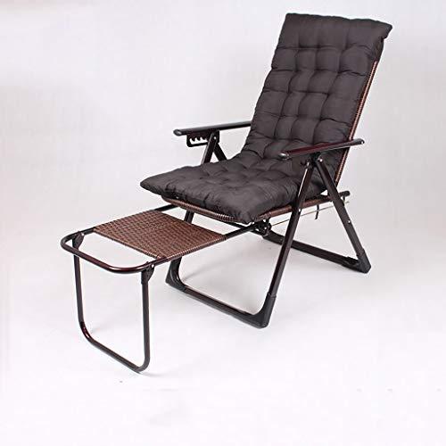DCCYZ-YJ Stuhl Folding Rattan-Stuhl Recliner Bett Büro Rücken Faule Kühler Stuhl (Color : D1)