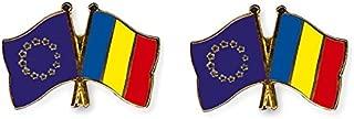 Yantec freundschaftspin broche /épingle doppelflaggenpin france belgique