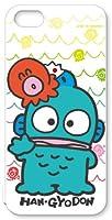 河島製作所 サンリオ iPhone5s / 5 キャラクター スマートフォンシェル ハード ケース / はんぎょどん 【HN1601】