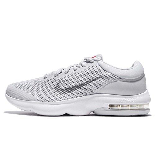 Nike Men's Air Max Advantage Pure Platinum/White Wolf Grey Ankle-High Running - 7.5M