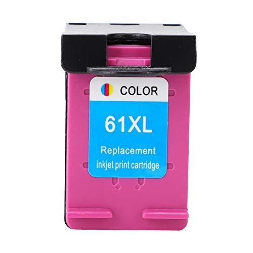 Para HP 61 XL Officejet 2620 4639 Deskjet 1000 1050 2000 impresora recargable cartucho de tinta cartucho