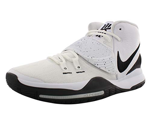 Nike Herren BQ4630-100 Basketballschuh, White/Black-Pure Platinum, 45 EU