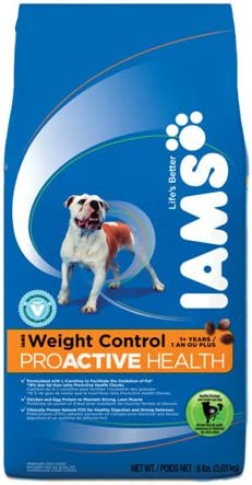 Iams Proactive Health Adult Weight Control 2021 Challenge the lowest price of Japan spring and summer new 17.5-lb Food Dry Dog