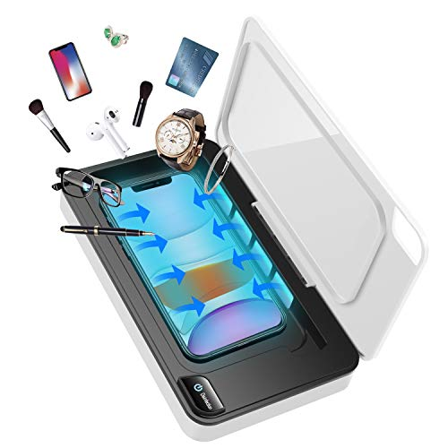 Cell Phone Soap Cleaner, Portable Smart phone Cleaner, Wireless Charger with Aromatherapy Diffuser for iPhone Android Phones Toothbrush Watch Jewelry Cards