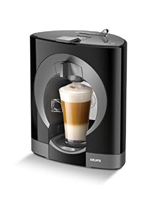 Nescafe Dolce Gusto Oblo Coffee Machine by Krups - Black