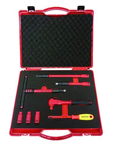 プロスタイルツール 絶縁工具セットN 8点入 樹脂アタッシュケース大 PZ SET N