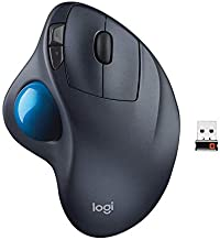 Logitech Wireless M570 Trackball Sculpted Shape to Provide Better Support for Your Hand