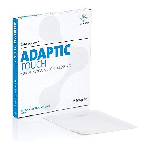 ADAPTIC Touch 12,7x15 cm nichthaft.Sil.Spenderbox 50 St