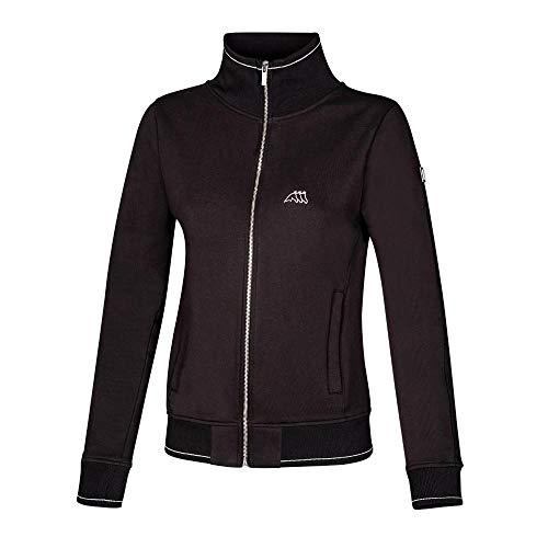 Equiline Damenjacke, Damen Sweatshirt Keila Sweater, schwarz Größe M