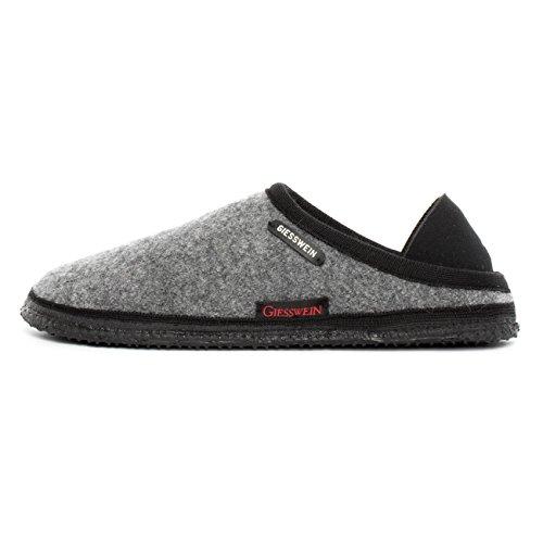 GIESSWEIN Hausschuh Neritz - leichte Filz-Pantoffeln für Damen & Herren | warme Indoor Slippers | Filzhausschuhe mit Rutschfester Sohle