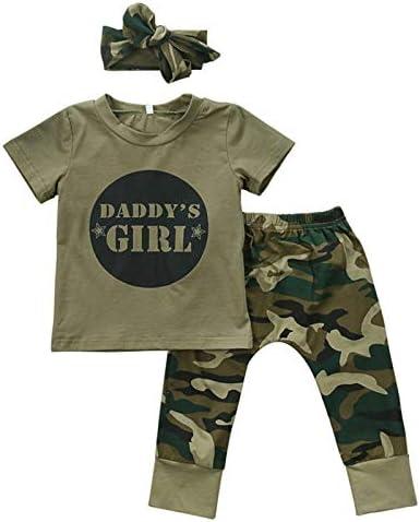 Kinderen Zomer Pak Mannen En Vrouwen Baby Camouflage Korte mouwen Tshirt TopGroene Broek Mode Casual Pak