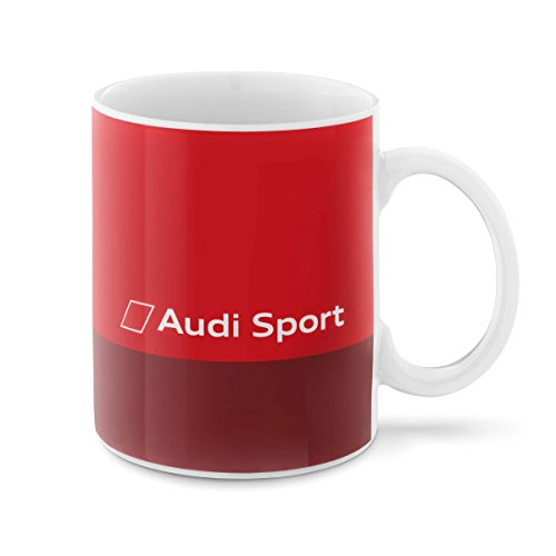 Audi collection 3291800500 Audi Sport Tasse, Rot