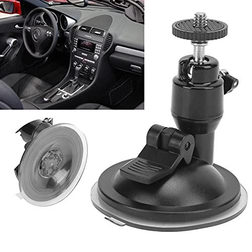 Ventosa para automóvil, accesorio de base Mejor sensación de uso para cámaras para amantes de la fotografía(black)