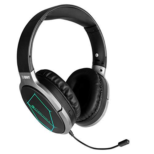 ZEBRONICS Zeb-Envy Wireless Bluetooth Over The Ear Headphone with Mic (Black)
