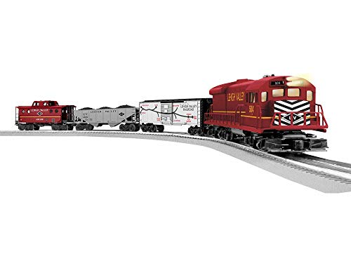 Lionel Trains - Lehigh Valley Freight LionChief Set with Bluetooth, O Gauge