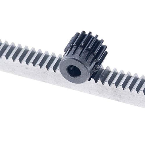 Z&S ZSHENG 1pc 1Mod 1 Modulus Gear The Rack Gear Pinion 1Mod 15T 18T Motor Pinion Gears Bore 6/8/10mm 45 Steel Cnc Gear (Number of Teeth : 18 Teeth 10mm)