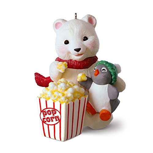 Hallmark Keepsake Christmas Ornament 2018 Year Dated, Snowball and Tuxedo Movie Night