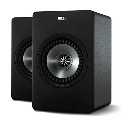 KEF X300A Digital Hi-Fi Speaker System - Gunmetal Gray (Pair)