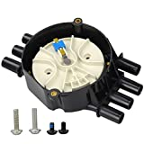 Distributor Cap and Rotor Kit 4.3L V6 for Chevy GMC Brass Terminals Compatible...
