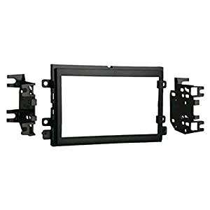 Pyle PLDN63BT 6.5'' 2-DIN in-Dash Touch Screen Bluetooth Receiver with Metra 95-5812 Double DIN Radio Installation Kit for Select 2004-up Ford Vehicles