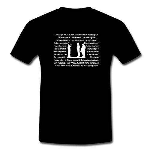 T-Shirt Die Olsenbande- Egon Olsens Flüche M-XXL, Schwarz, L