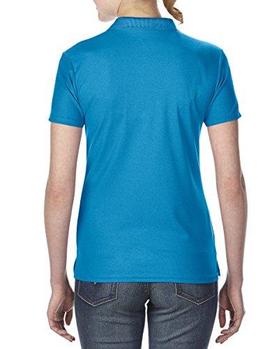 Gildan Damen Performance Sport Piqué Polo-Shirt (2XL) (Saphir)