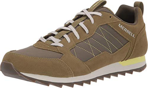Merrell Herren Alpine Sneaker, Grün (Olive), 48 EU