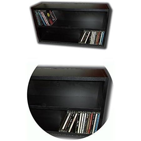 Mueble Estanteria Negra para Guardar 100 CD Compact Disc/Ref ...