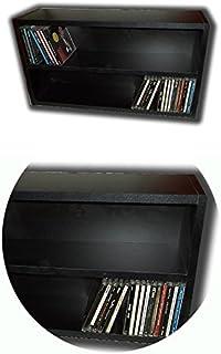 Mueble Estanteria Negra para Guardar 100 CD Compact Disc/Ref. MAR035