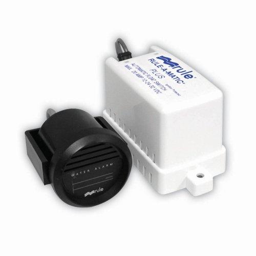 Rule 33ALA Marine High Water Bilge Alarm (Mercury Free, 12-Volt),White
