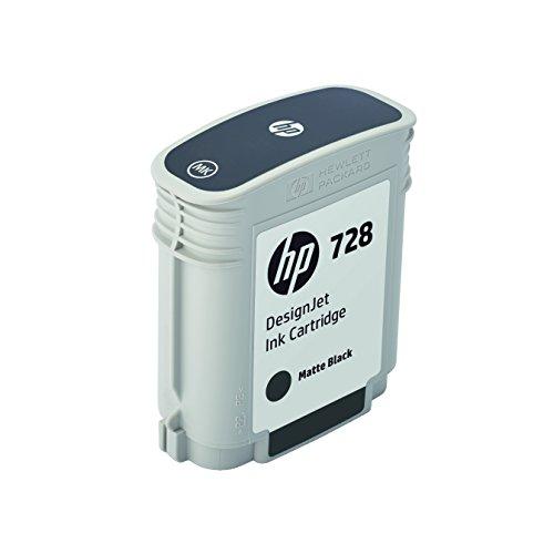 HP F9J64A Tintenpatrone, 728 Original, matt schwarz