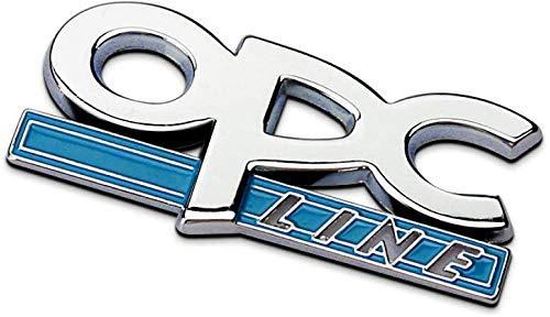 De Rejilla Frontal de Metal Insignia Emblema de Parrilla Cabeza Coche,De Rejilla Frontal de Metal Insignia para Opel Corsa Meriva Zafira Astra Vectra Antara Mokka,Accesorios de diseño de automóviles