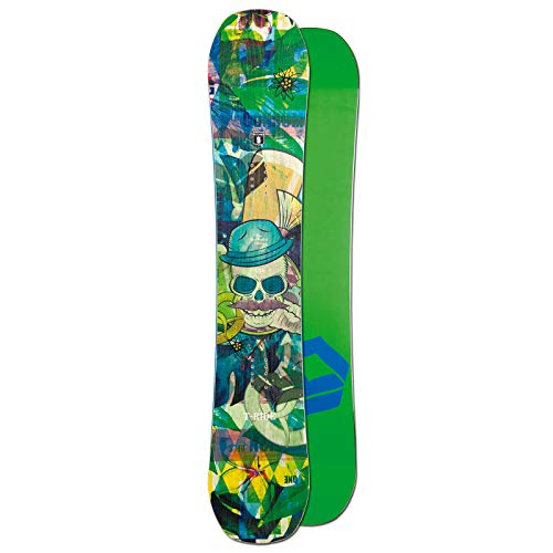 Ftwo Herren Freestyle Snowboard T-Ride 154 cm ~ Camber Board