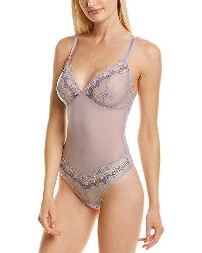 b.tempt'd by Wacoal Women's Wink Worthy Bodysuit, Lavender Aura, L