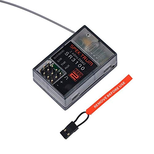 Willowhe Spektrum SR3100 DSM2 3 Kanal Oberflächenempfänger für RC CAR RC Boat 2.4GHz