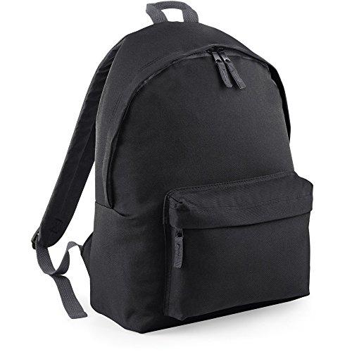 Bagbase Unisex Maxi Fashion Backpack / Rucksack Black