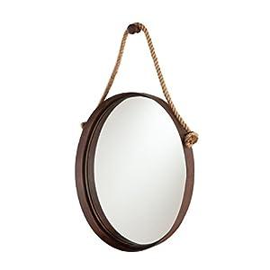 SEI Furniture Melissa Round Decorative Wall Mirror...