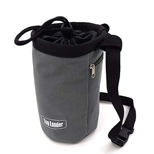 Chalkbag zum Klettern – Boulder-Kreidetasche mit verstellbarem Gurt, große Kapazität, wasserdichte Boulder-Kreidetasche, Kletterausrüstung