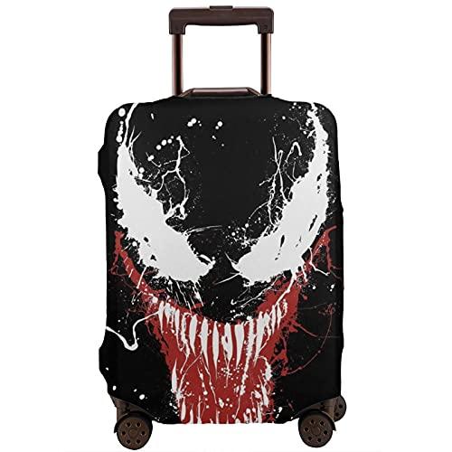 Venom Maleta Funda Protectora Banda Elástica Caja Protectora Anti-arañazos Las Mangas Elásticas Gruesas son Fácil de limpiar, Impreso Elegante y Lindo