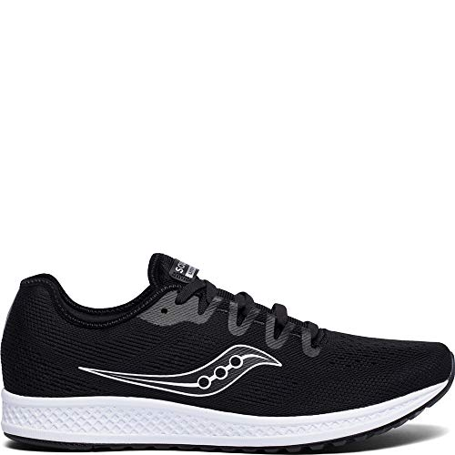 Saucony Men's Versafoam Flare Running Shoe, Black, 12 Medium US