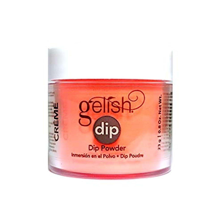 アンソロジー名声台風Harmony Gelish - Dip Powder - Tiki Tiki Laranga - 23g / 0.8oz