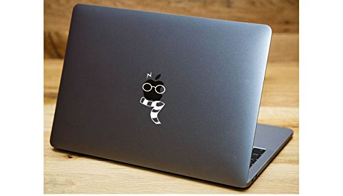 Harry Potter Glasses Scar Scarf Wand Decal Apple Macbook Laptop Vinyl Sticker Decal